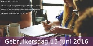 Gebruikersdagen (1)