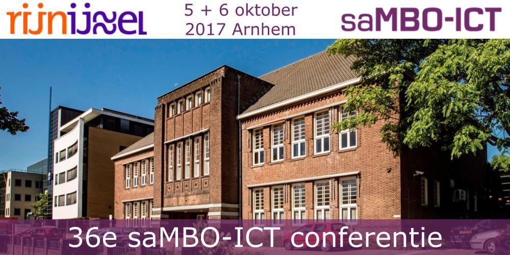 Programma 36e conferentie saMBO-ICT