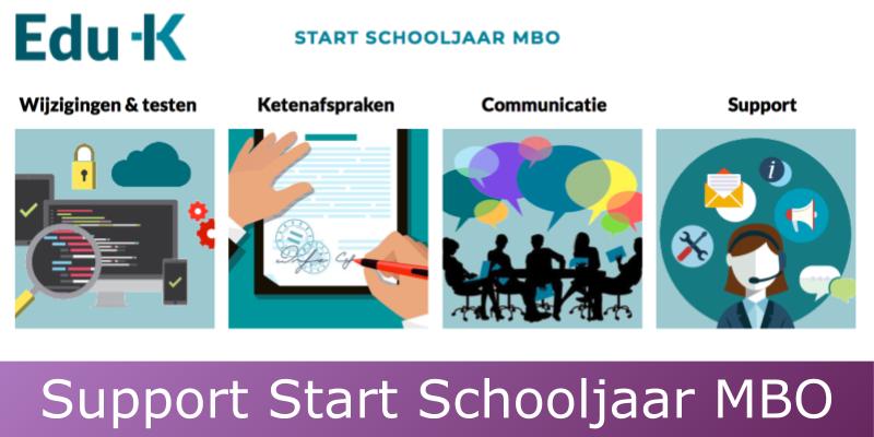 Bericht van Edu-K: Support tijdens start schooljaar