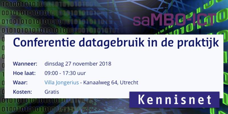 Conferentie datagebruik in de praktijk