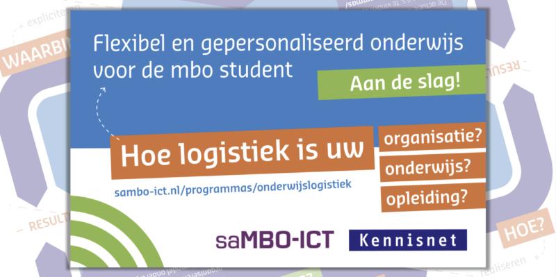 Aankondiging Referentiemodel Onderwijslogistiek