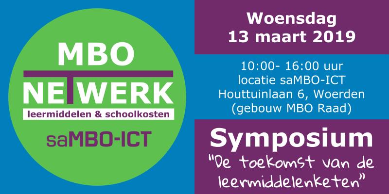 Uitnodiging Symposium Leermiddelenbeleid en Schoolkosten – 13 maart 2019