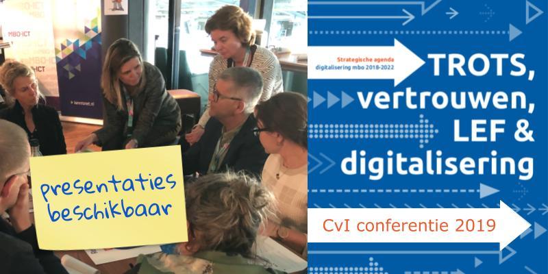 Onze presentaties CvI conferentie 27 & 28 maart 2019
