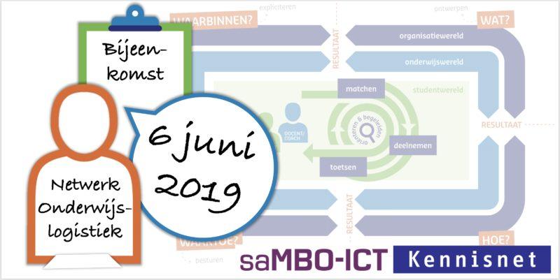 Verslag en presentaties Netwerk Onderwijslogistiek 6 juni 2019