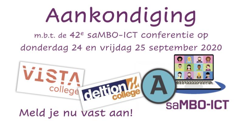 42e saMBO-ICT conferentie