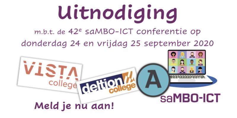 Programma 42e saMBO-ICT conferentie bekend, aanmelden kan nog!
