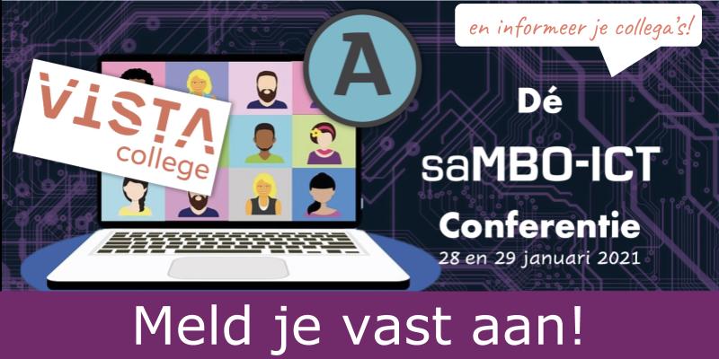 Aankondiging dé saMBO-ICT conferentie