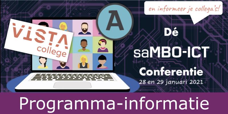 Programma saMBO-ICT conferentie