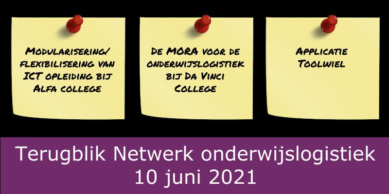 Terugblik netwerk onderwijslogistiek