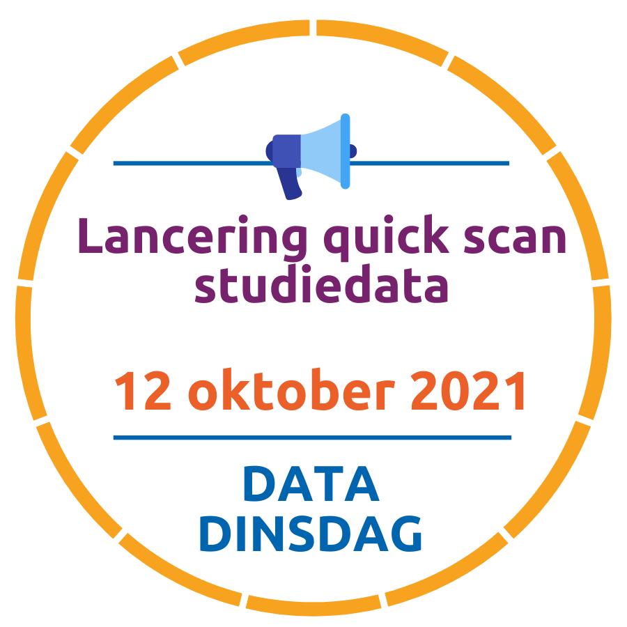 Lancering Quickscan Studiedata